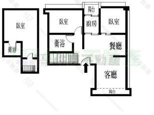723坪 公寓│3房2厅1卫 1950万 看地图加入最爱 内湖区金湖路 建坪:28