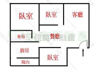 三面采光的房子设计图