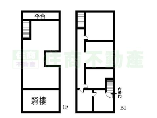 一层坡屋房屋内部结构图