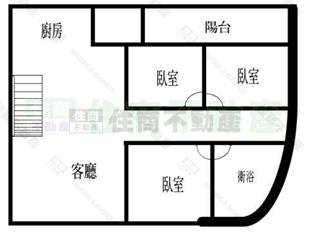 二楼六间房子格局设计图纸