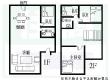 圆厅别墅手绘平面图