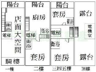 套房电路结构图